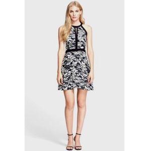 Parker Silk Nika Tidal Camo Print Mini Dress